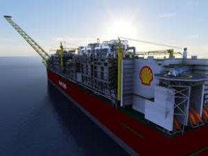 Shell'den dünyanın ilk yüzen FLNG tesisi