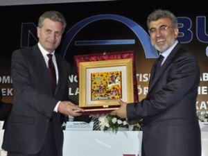 Nabucco imza töreni Kayseri'de yapıldı
