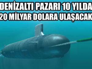 Denizaltı pazarı 10 yılda patlama yapacak