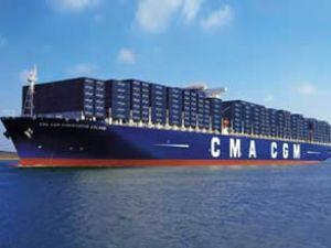 CMA CGM 8 yeni gemiyi suya indiriyor