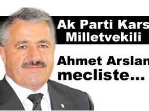 Ak Parti milletvekili Arslan mecliste