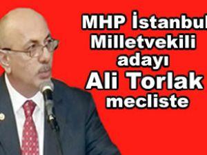 MHP milletvekili Ali Torlak mecliste