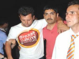 Ak Parti seçim ofisine saldırı gerçekleşti
