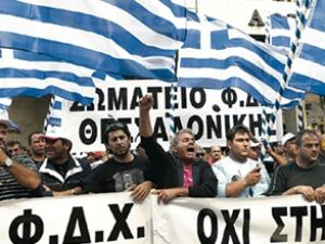 Yunanistan limanlarında grev başladı