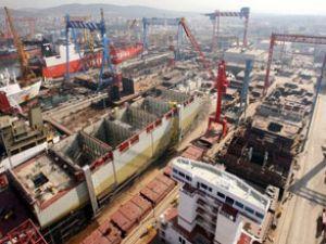 Çin'in gemi yapımı ilk çeyrekte %6 arttı