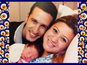 Eray-Ayça Ersöz çiftinin erkek bebeği oldu