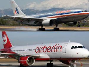 Airberlin ve American Air birlikte uçuyor