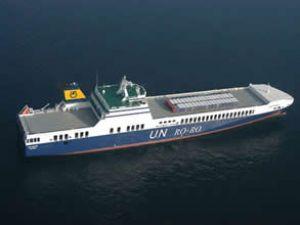U.N RO-RO, Trieste'ye seferleri başlatıyor