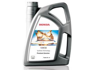 Honda'dan motor yağı ve filtre hediye