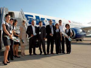 Sky Air, Kuveyt'e ilk seferini gerçekleştirdi