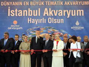 İstanbul Akvaryum Kompleksi açıldı