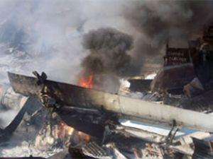 Türk Kuşu'nun uçağı düştü: 2 ölü