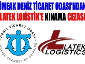 DTO'dan Latek Lojsitik'e Kınama Cezası