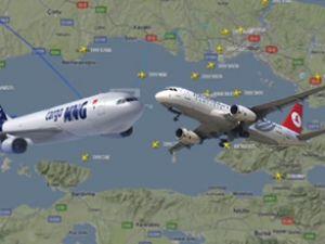 THY ve MNG Kargo uçağı tehlike atlattı
