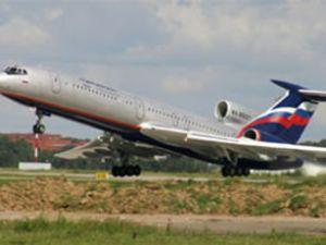 Tupolev-154 tipi uçak büyük tehlike atlattı