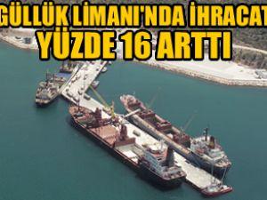 Güllük Limanı'nda ihracat yüzde 16 arttı