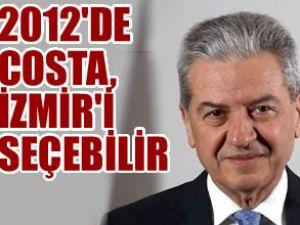 2012 yılında Costa, İzmir'i tercih edebilir