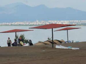Karaburun Plajı'na tekne seferleri başlıyor