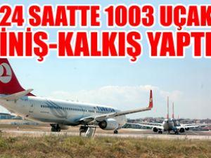Atatürk Havalimanı tarihi rekora imza attı