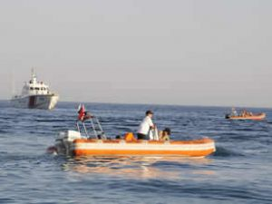Bandırma'da hurda gemi operasyonu