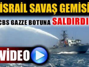 İsrail savaş gemisi, CBS teknesine saldırdı!