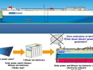 MOL'den solar enerjili araç taşıyıcı gemi