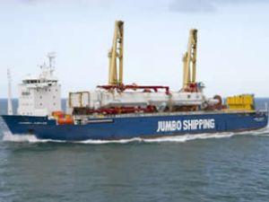 Jumbo Shipping vinç gemisi siparişi verdi