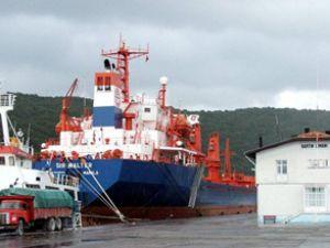 Bartın Limanı'nda konteyner dönüşümü
