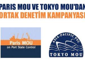 Paris MoU ve Tokyo Mou'dan ortak teftiş