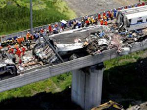 Çin'deki tren kazasının faturası kesildi
