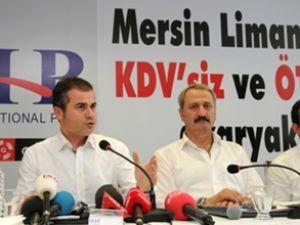 Mersin Limanı'nda yakıt istasyonu açıldı