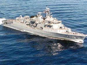 TCG Barbaros gemisi Cidde'ye gidiyor