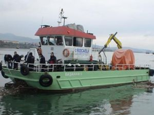 İzmit Körfezi'nden 260 ton atık toplandı