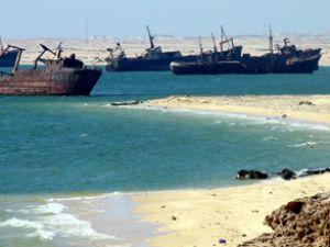 Dünyanın gemi mezarlığı: Moritanya