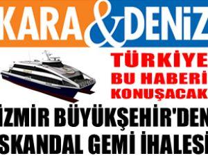 İzmir Büyükşehir'den SKANDAL ihale
