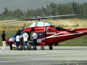 Ambulans helikopterden ilk uluslararası operasyon