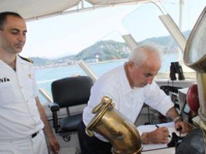 Vali Şahin, TCSG 124 botunu inceledi