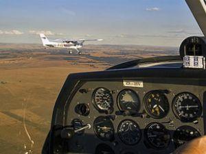 Almanya'da özel uçak düştü: 2 ölü