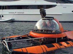 Yat sahiplerine portatif denizaltı keyfi