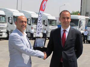 Mağdenli Nakliyat'a 40 adet Trucks teslimi