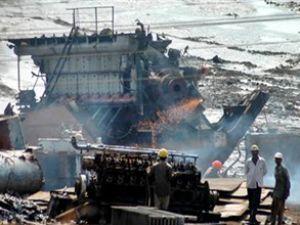Pakistan'ın çeliği gemi sökümden geliyor