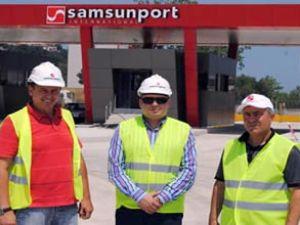 Ceynak Lojistik'den Samsun'a dev yatırım