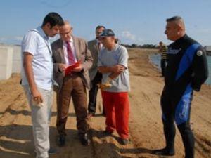 Samsun'da yat limanı inşaatı hızla sürüyor