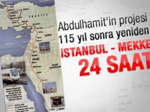 İstanbul-Mekke arası tren seferi başlıyor