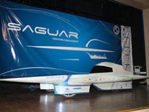 Saguar güneş arabası trafikte test edildi
