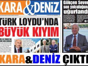 Kara&Deniz Gazetesi'nin son sayısı çıktı