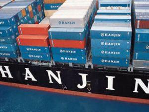 Hanjin 13 bin TEU'luk beş gemi yaptıracak