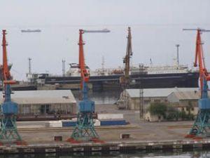 Bakü Limanı inşası hızla devam ediyor