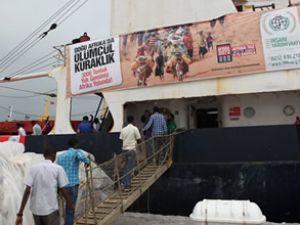 İHH'nın Somali yardım gemisi yola çıkıyor