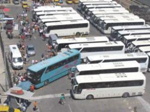 Alsancak Limanı'nda trafik karmaşası